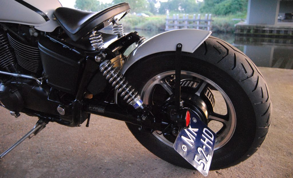 RAW METAL RACERS VT1100 BOBBER