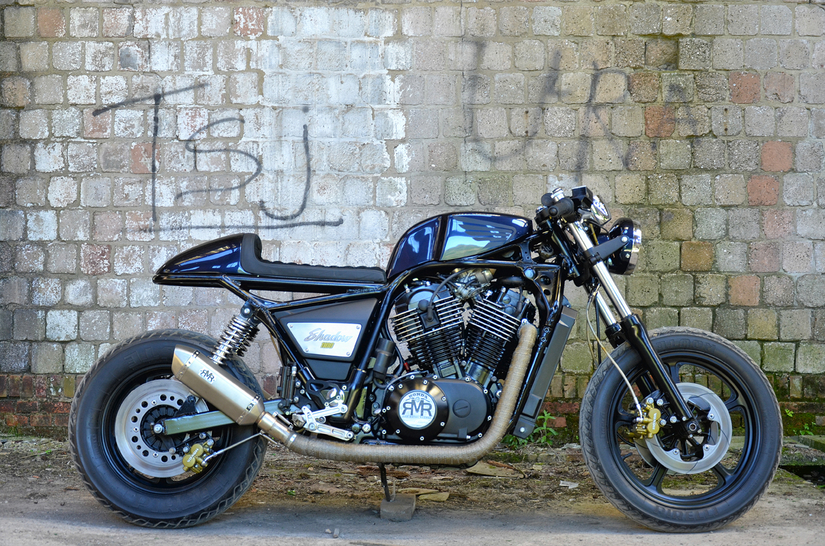 RAW METAL RACERS HONDA VT1100 CAFE RACER
