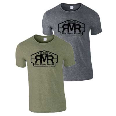 Raw Metal Racers shirts